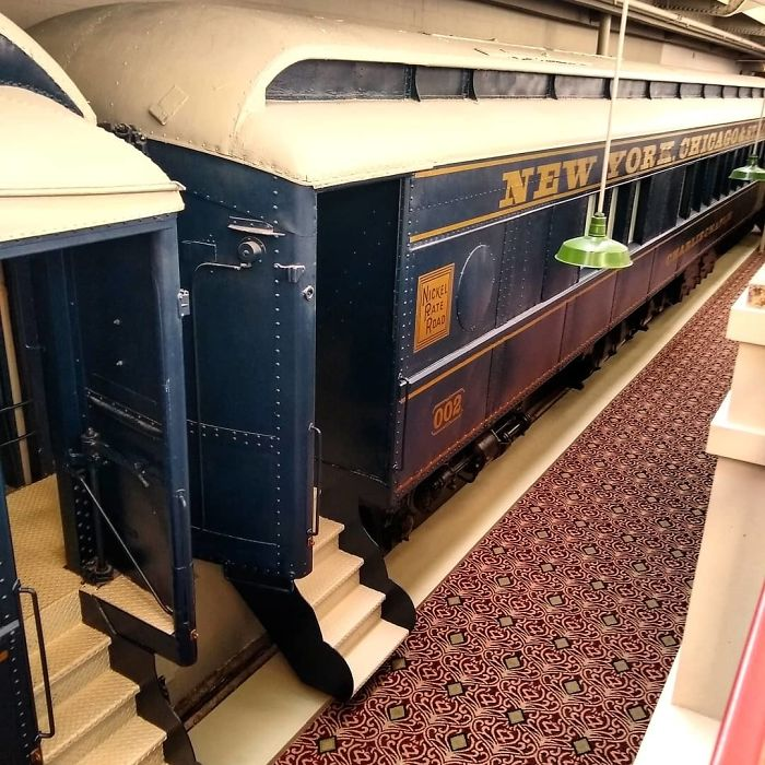 Hotel I Stayed At Was Formerly A Train Station And Had An Actual Train Inside It, With Rooms Inside Each Car