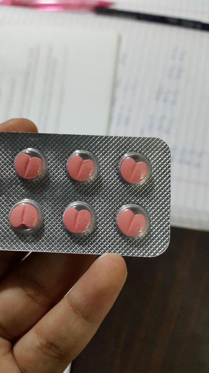 The Pills Which Help Regulate My Heart Rate Are Shaped Like Hearts
