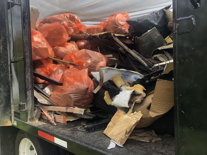 My Crew And I Spend 45 Hours Every Week To Collect Trash And Debris From The Interstate. We Clean The Same 64 Miles Every Week And The Amount We Collect Never Gets Less. Hopefully, #trashtag Helps!