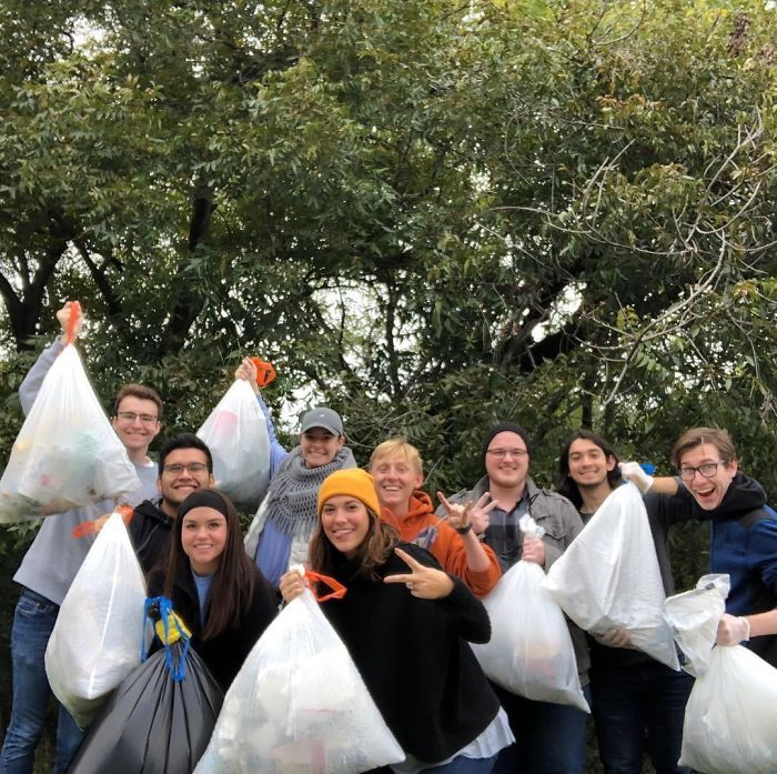 May Be An Older Pic (November 2018), But Some Friends And I Went To A Local Park/River And Cleaned Up As Much As We Could Find! #trashtag