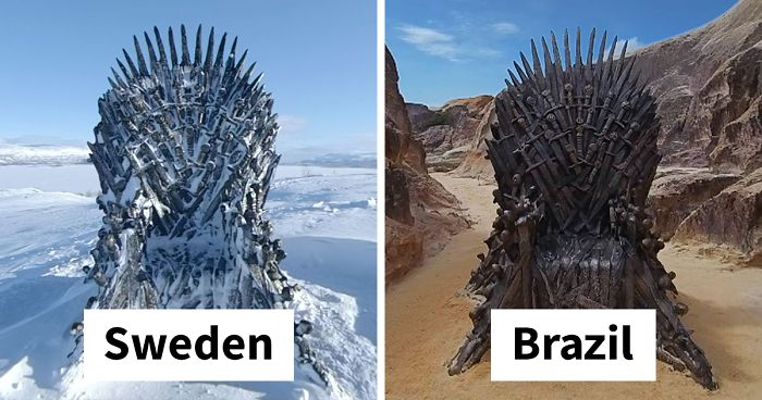 Game Of Thrones Hid 6 Thrones Around The World For An Epic Scavenger