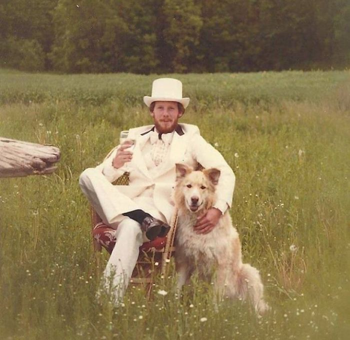 My Dad's Graduation Photo. Circa 1970's
