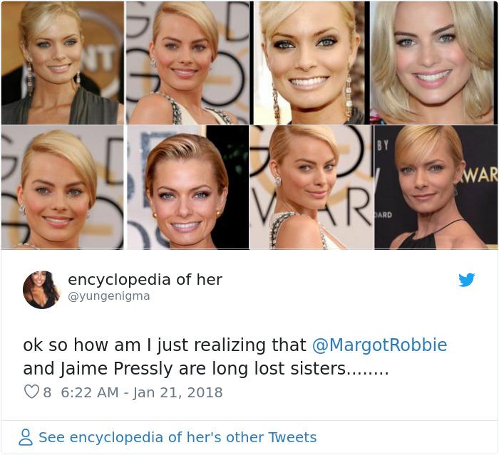 Baby celebrity doppelganger photos