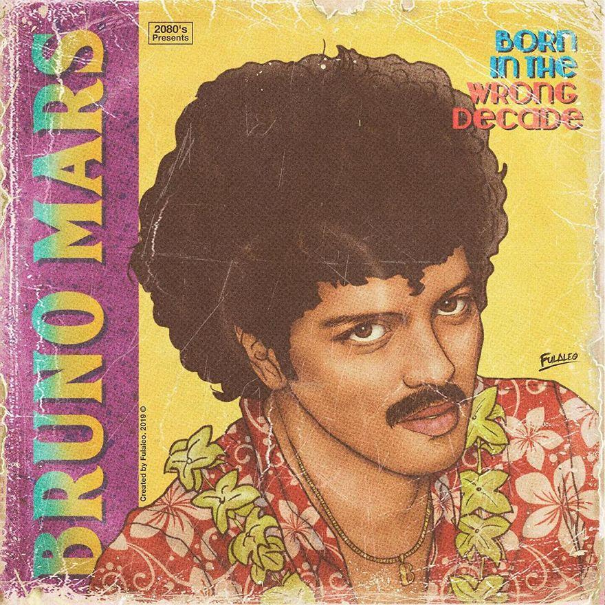 """Bruno Mars """"Born In The Wrong Decade"""""""