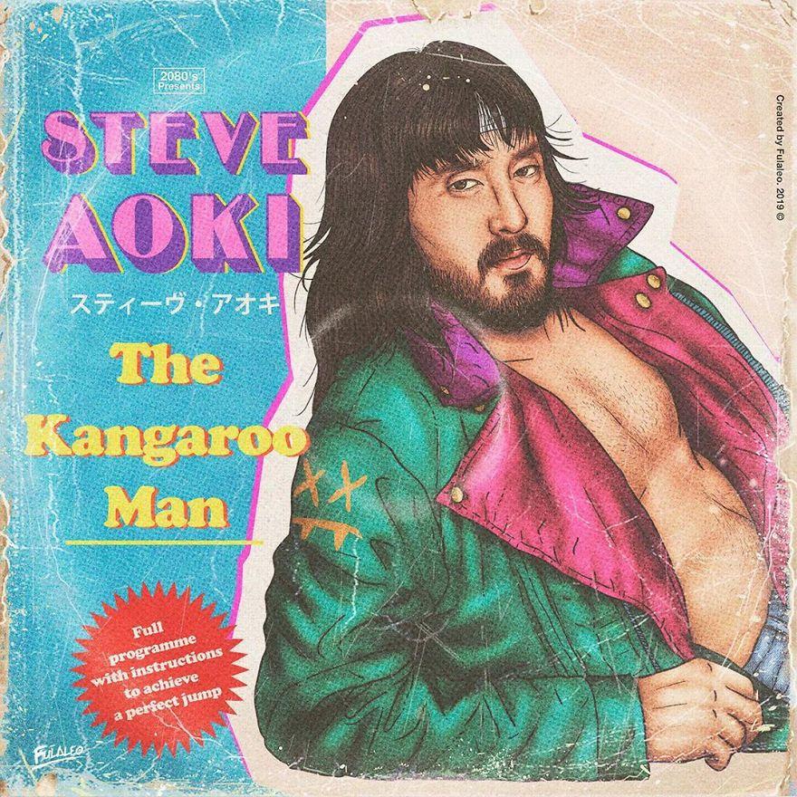 "Steve Aoki ""The Kangaroo Man"""
