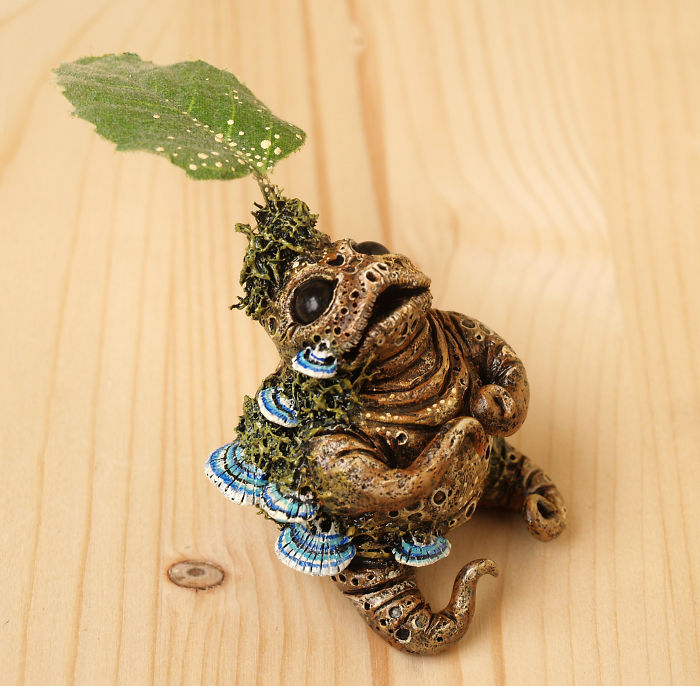 Nature Inspired Monster Figurines