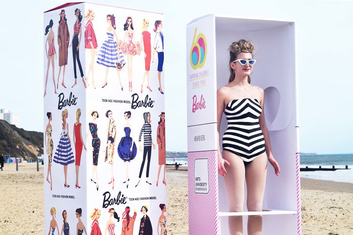 Students Reimagine The First Barbie In Real-Life To Celebrate Her Birthday