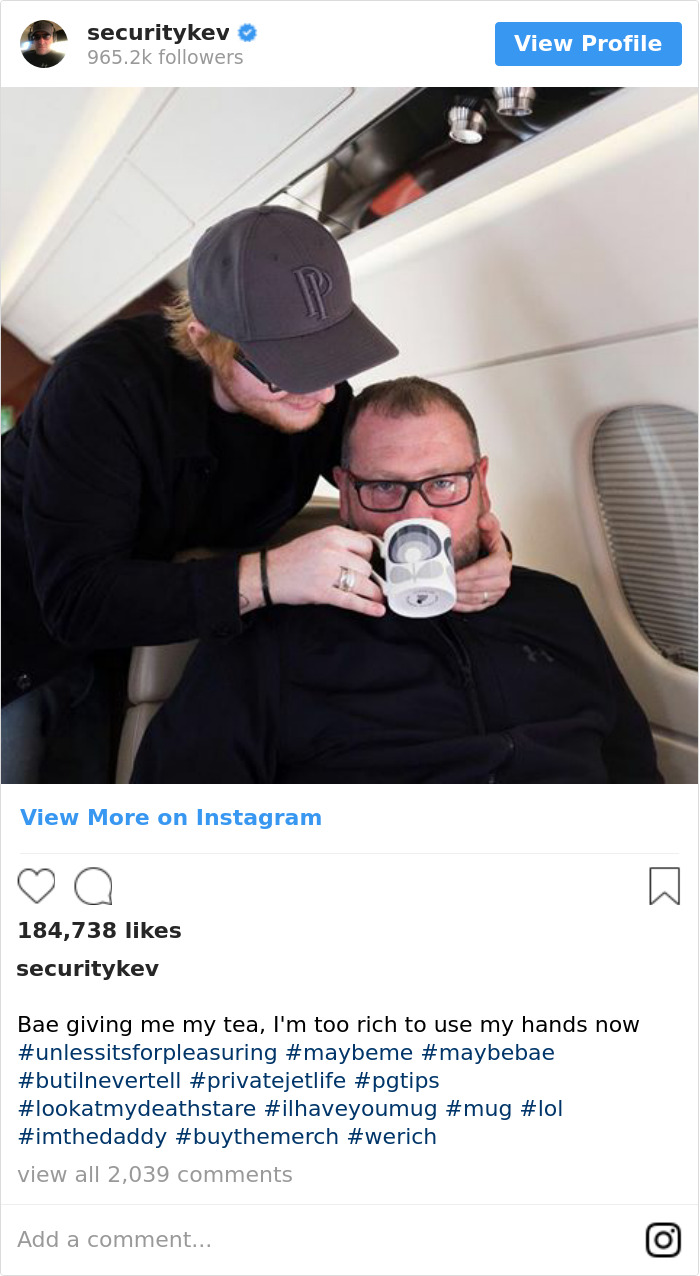 Bae Giving Me My Tea, I'm Too Rich To Use My Hands Now #unlessitsforpleasuring #maybeme #maybebae #butilnevertell #privatejetlife #pgtips #lookatmydeathstare #ilhaveyoumug #mug #lol #imthedaddy #buythemerch #werich