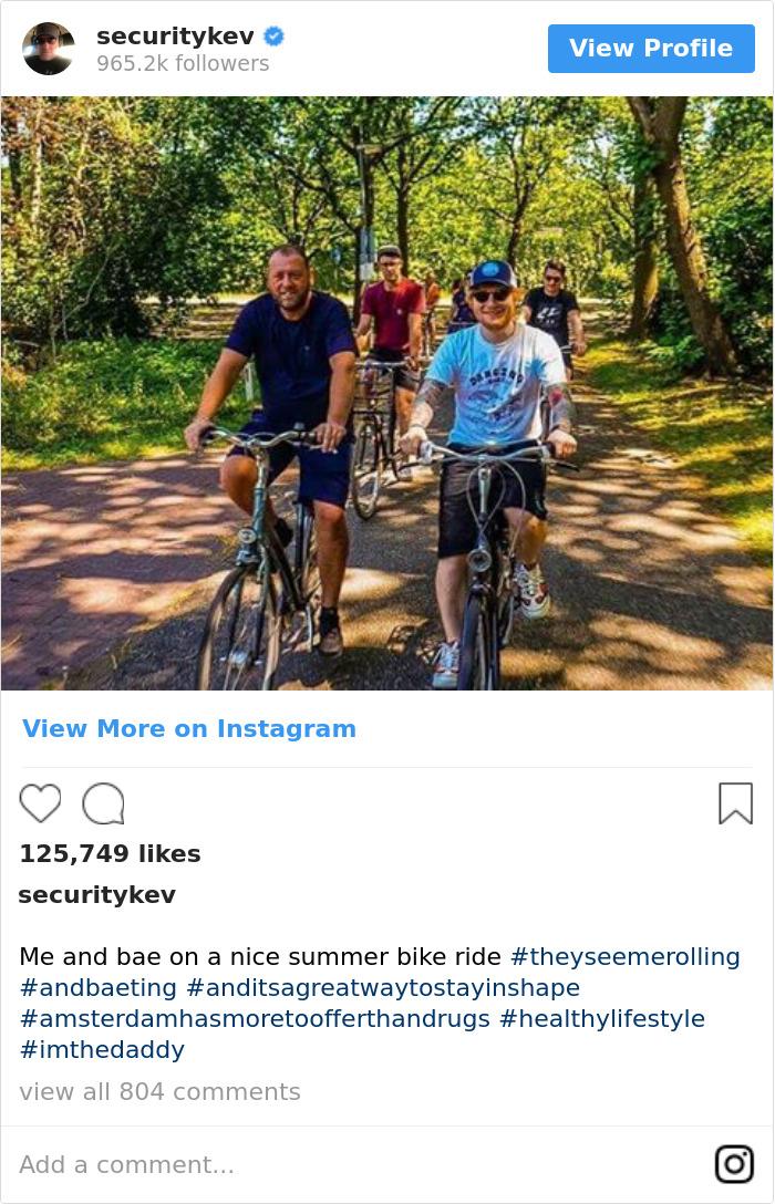 Me And Bae On A Nice Summer Bike Ride #theyseemerolling #andbaeting #anditsagreatwaytostayinshape #amsterdamhasmoretoofferthandrugs #healthylifestyle #imthedaddy