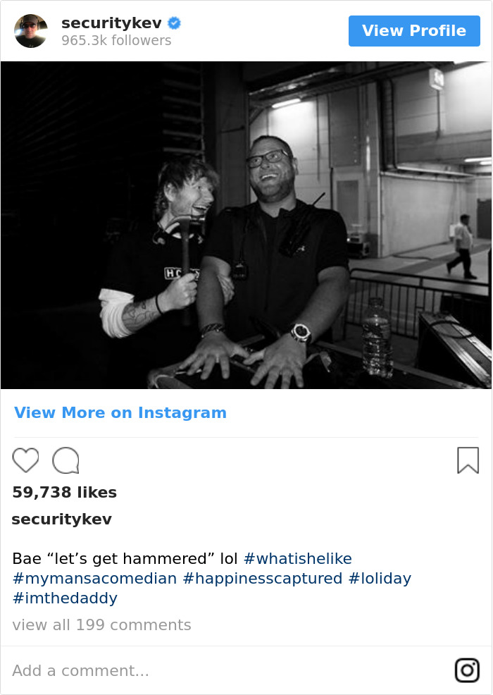 """Bae """"Let's Get Hammered"""" Lol #whatishelike #mymansacomedian #happinesscaptured #loliday #imthedaddy"""
