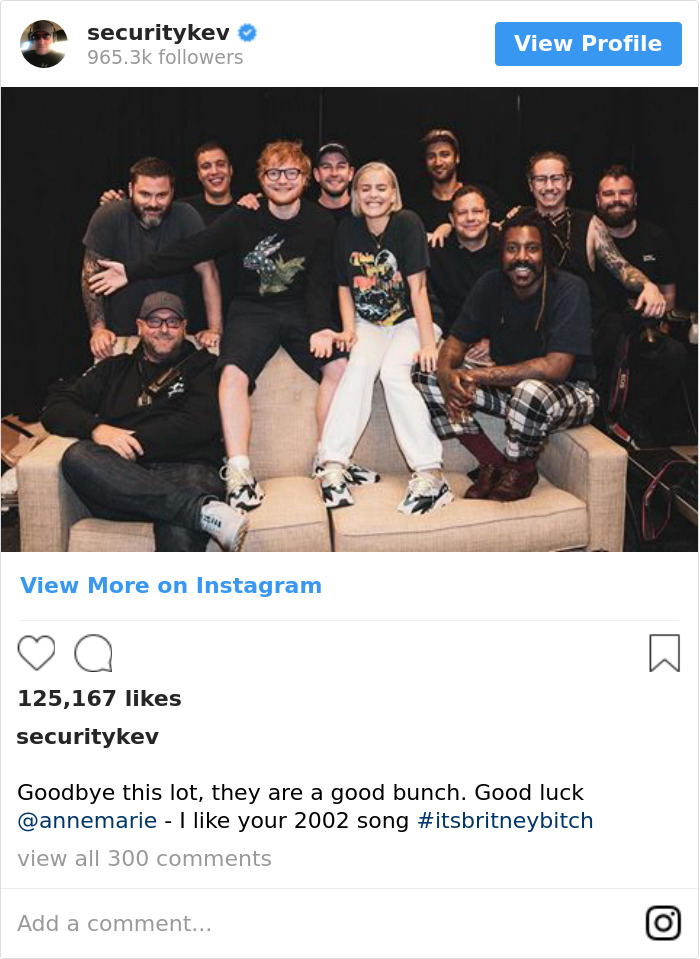 Goodbye This Lot, They Are A Good Bunch. Good Luck @annemarie - I Like Your 2002 Song #itsbritneybitch