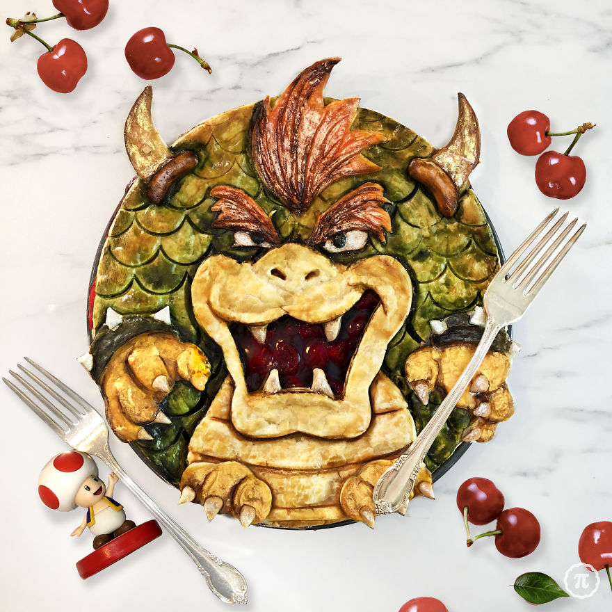 Bowser Cherry Pie