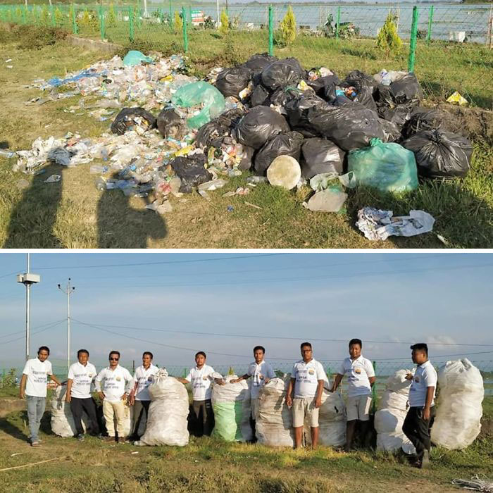 #trashtag #trastagchallenge Team #waragainstplasticwaste. Hope More Environment Conscious People Join This Challenge For Better Tomorrow