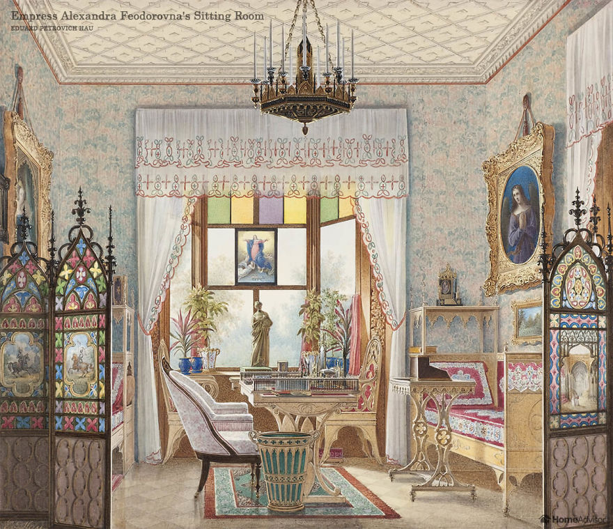Designers Bring The Interior Of Famous Paintings To Life