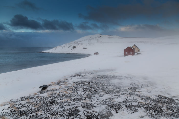I Went To Nordkapp In Winter Through The 1000 Km Snow Land