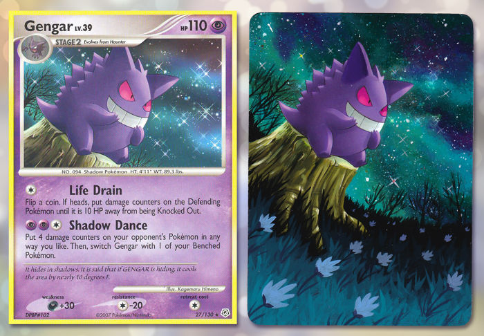 I Breathe New Life Into Old Pokémon Cards By Repainting Them