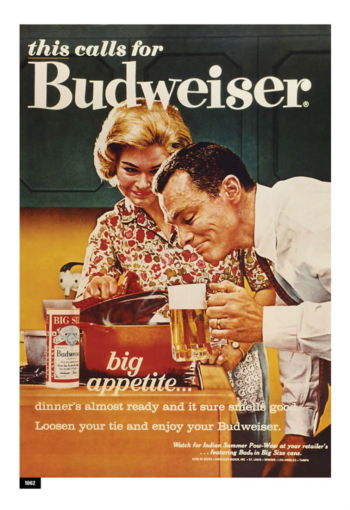 Budweiser Adapts Its Sexist Ads From The 50s And 60s To 2019