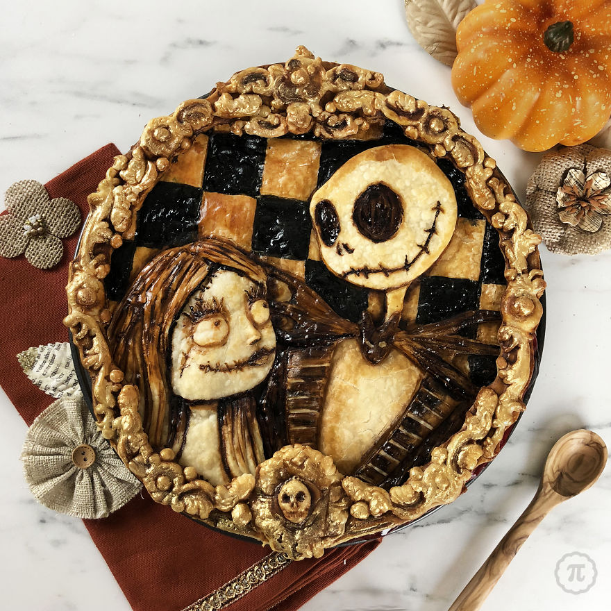 Jack & Sally From Nightmare Before Christmas