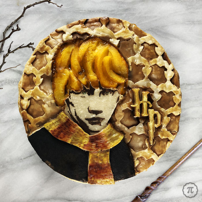 Ron Weasley Peach Pie