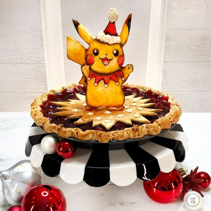 Chocolate Cherry Pie-Kachu