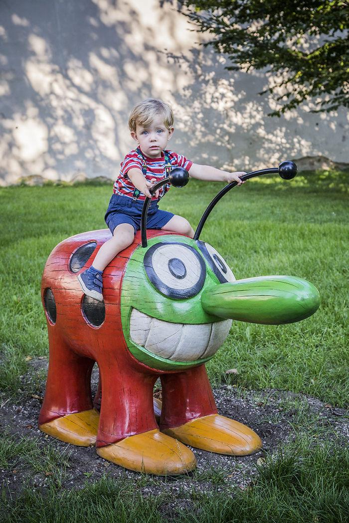 Colorful Unique Playground