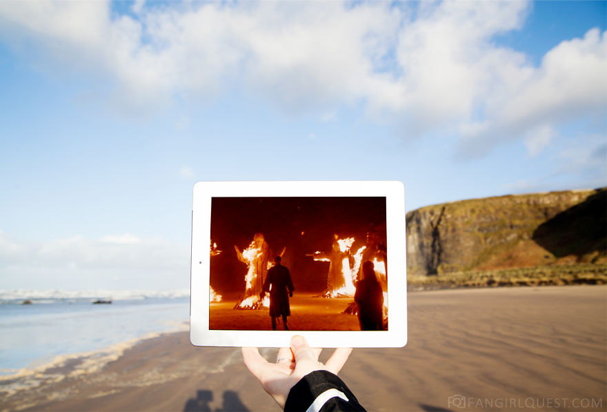 The Burning Of The Seven At Dragonstone Beach