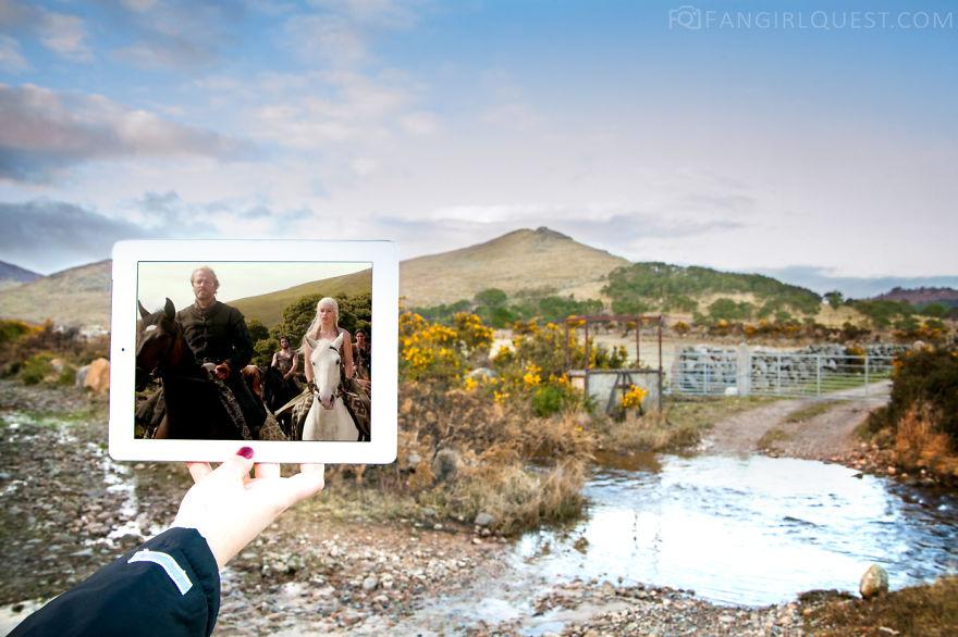 Ser Jorah And Khaleesi In Northern Ireland