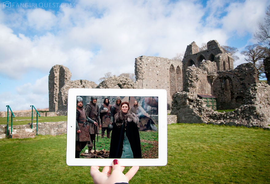 Catelyn Stark At Inch Abbey, Northern Ireland