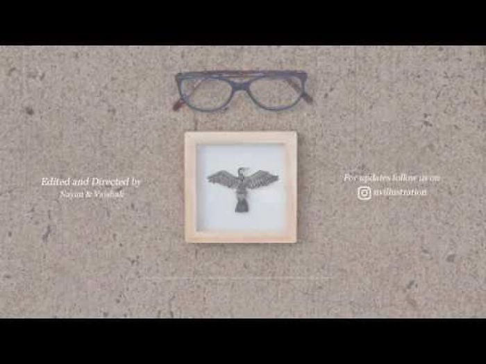 Making Of Our Miniature Paper Cut Bird