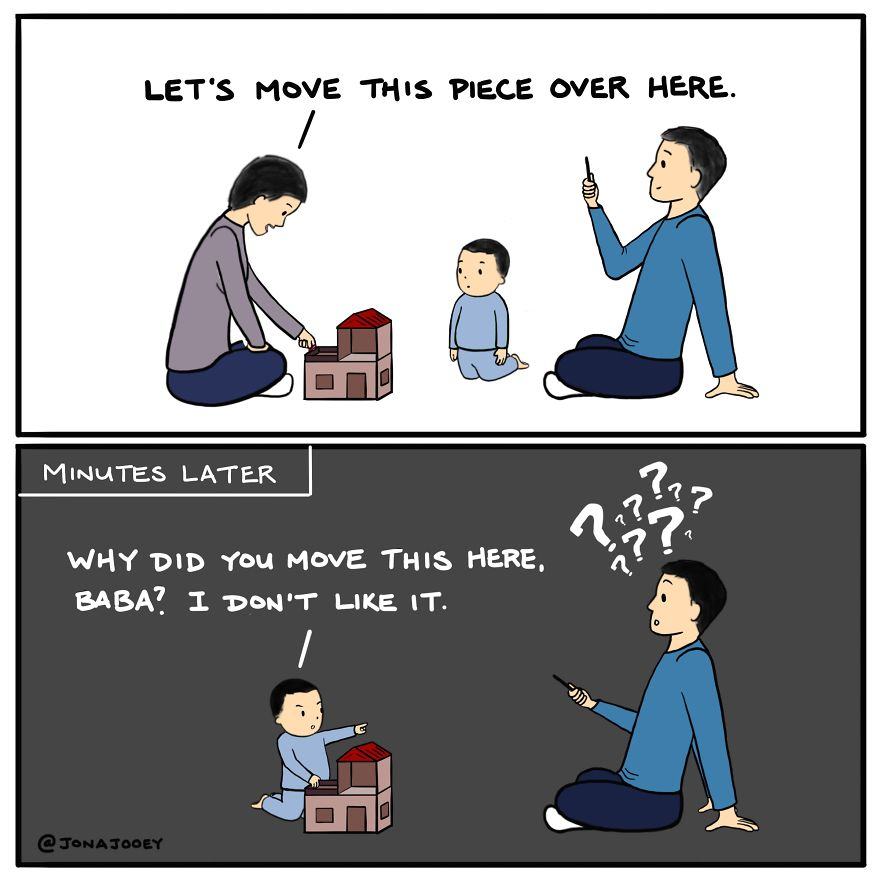 22 Comics Of Why I Think Parenthood Is Not For The Faint Of Heart (Oc)