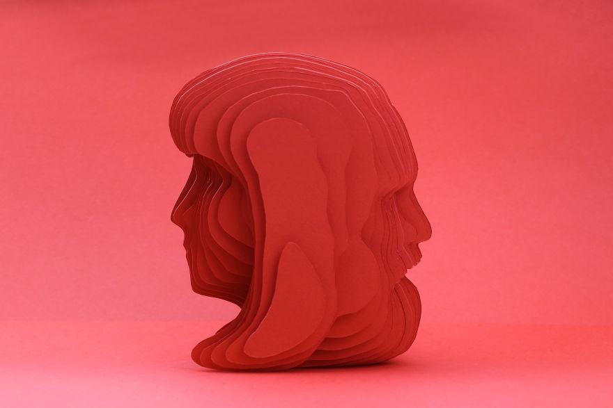 """Bright Red"" By Papier Atelier (Turkey)"