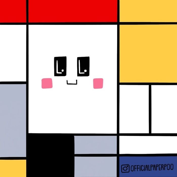 When In Doubt, Go For Mondrian!