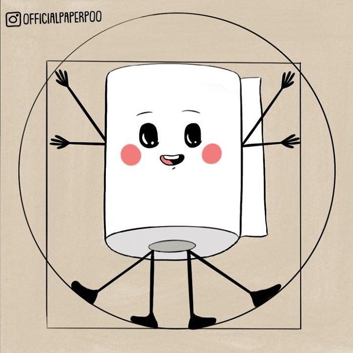 Perfectly Dimensional Like The Vitruvian Man