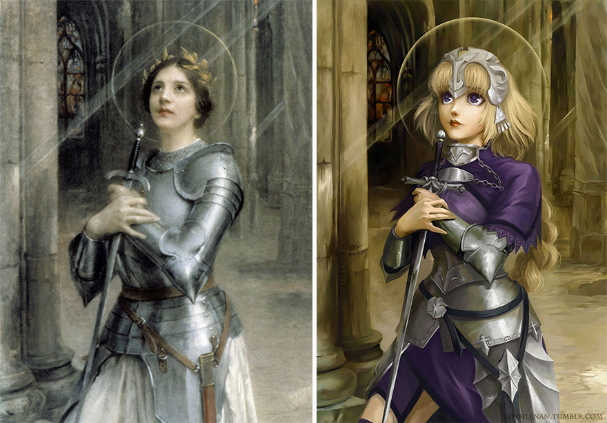Joan Of Arc (Charles-Amable Lenoir) As Jeanne D'arc