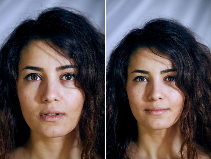 Photographer Takes Portraits Of People With And Without Clothes, Asks Viewers To Guess Which One Is Naked From Their Faces
