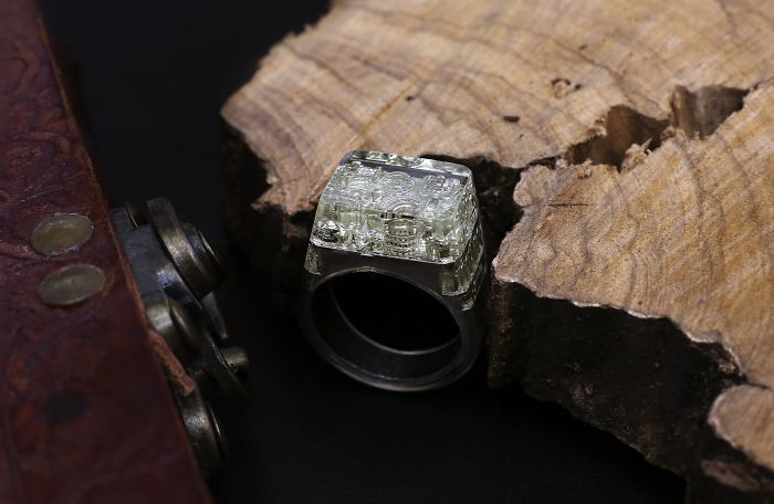 Ultra Detailed Rome Ring