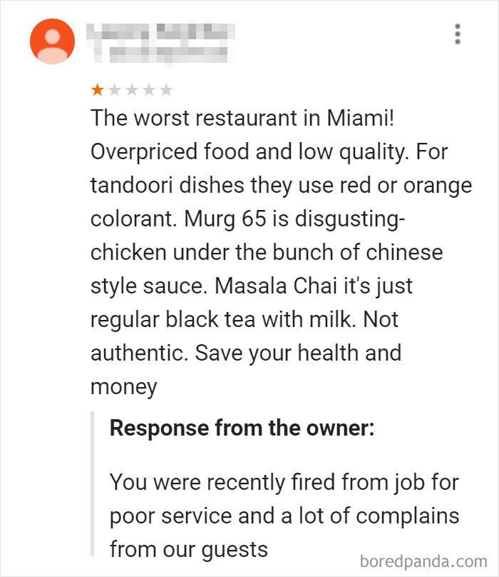 This Owner Exposing Their Ex-Employee