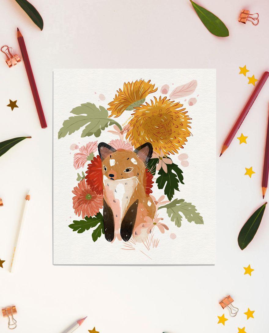 Grumpy Little Fox