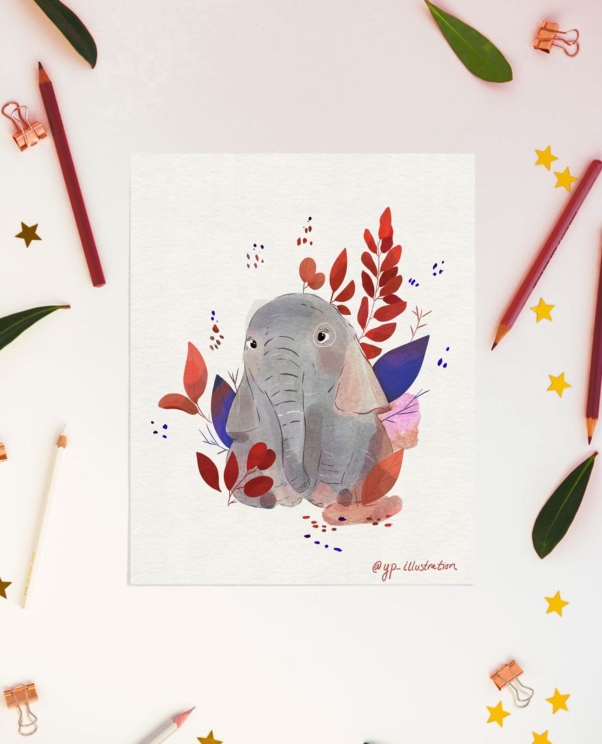 Tiny Elephant To Help You Get Through The Week
