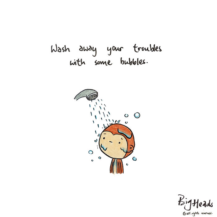 Wash Away Your Troubles With Some Bubbles