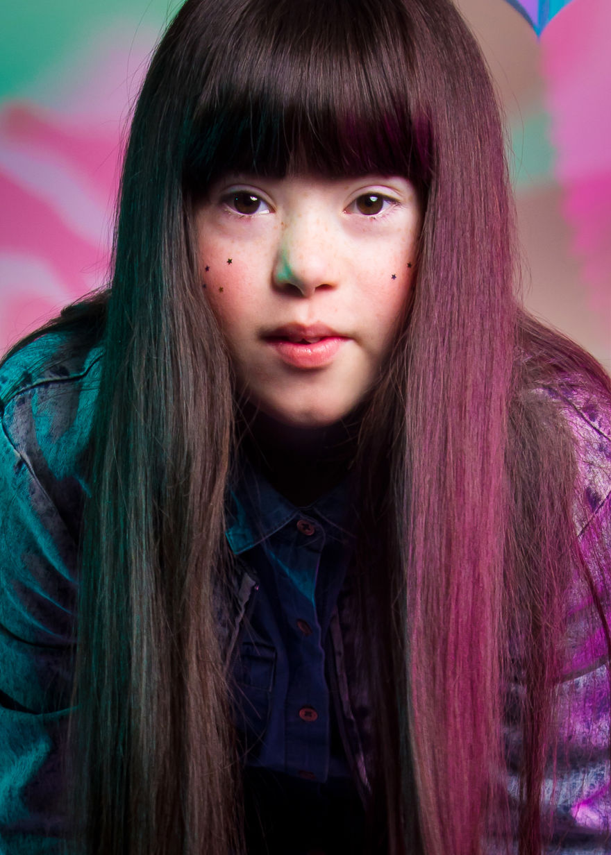 'The Radical Beauty Project' Challenges The Way We See People With Down's Syndrome By Showing Their Modeling Skills (Zebedee Management)