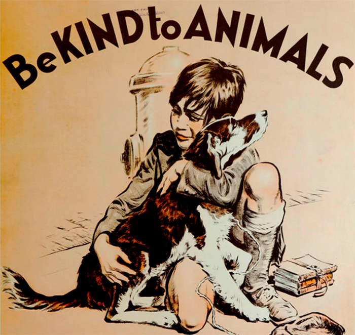 17 Posters From The 1930s, The Age Of Great Depression, That Promote Kindness To Animals
