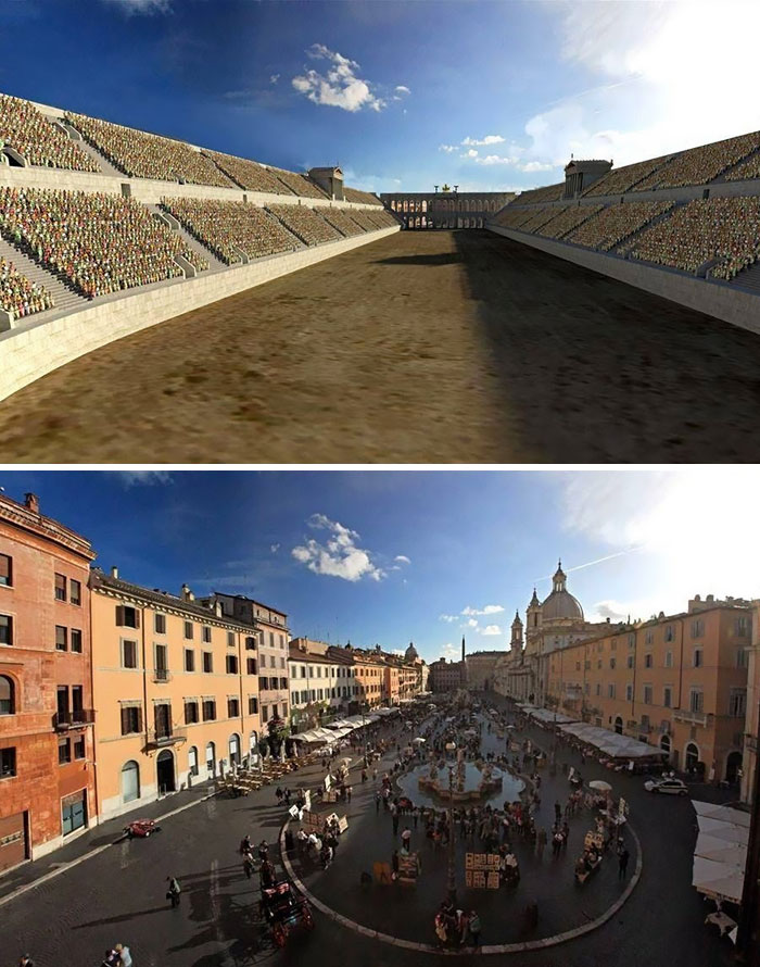 Stadium Of Domitian (Piazza Navona)