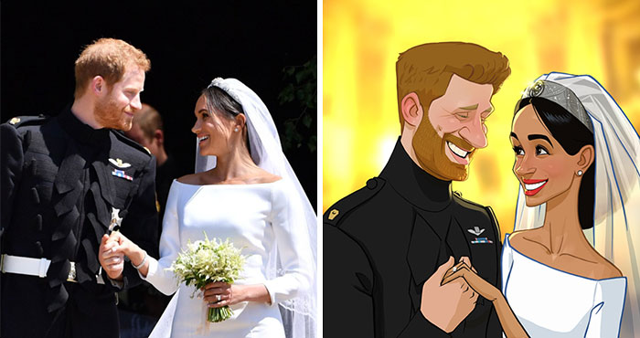 Artist Transforms Strangers And Famous Characters Into Cartoons (30 New Pics)