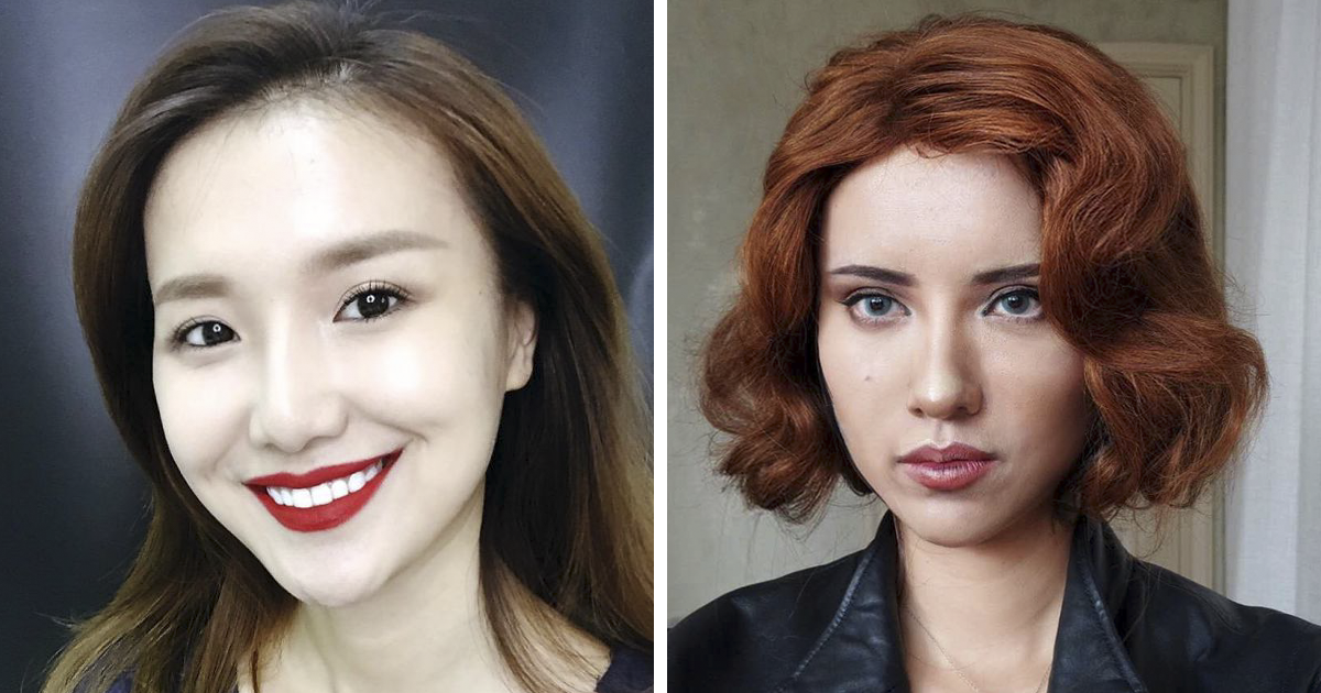 artists Asian make up