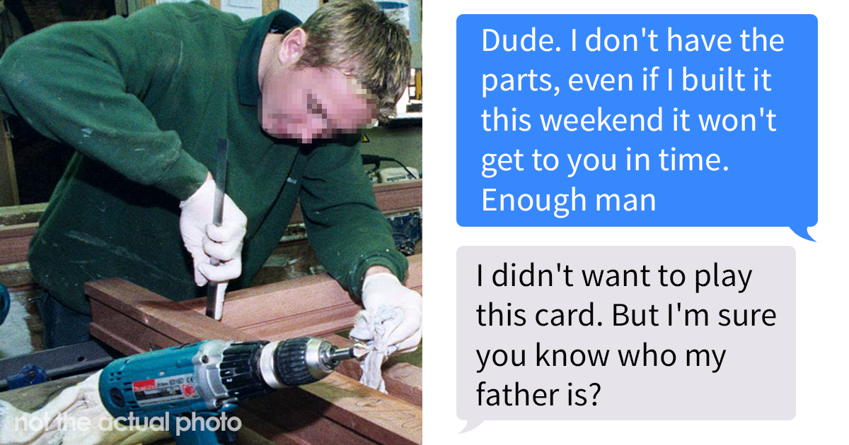 Entitled 19-Year-Old Makes A Complete Fool Of Themselves Desperately Trying To Bully Workshop