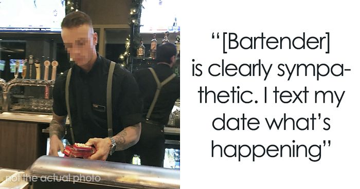 Guy Lies To Bartender About His ID To Get Wine For His Date, Has To Spend The Rest Of The Date With Bartender