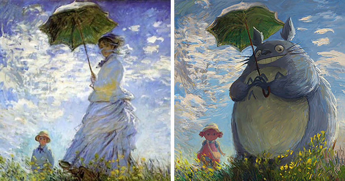 Artist Gives Classical Paintings Geeky Makeovers (13 Pics)