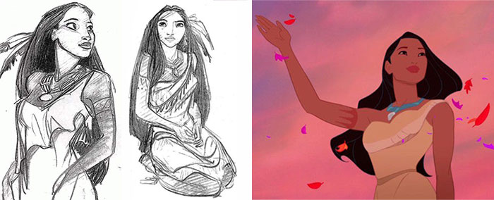 Heres How 25 Disney Characters Looked In Their Original Concept Art