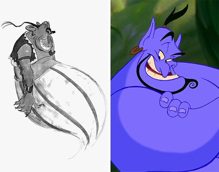 Genie In Aladdin (1992)